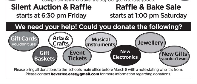 Silent Auction & Raffle